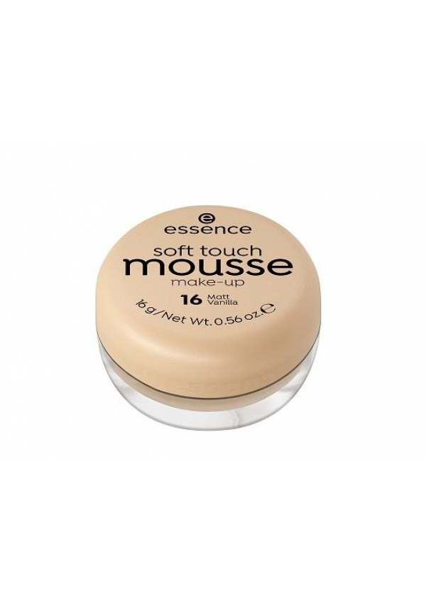 Essence Мусс тонирующий soft touch matt mousse