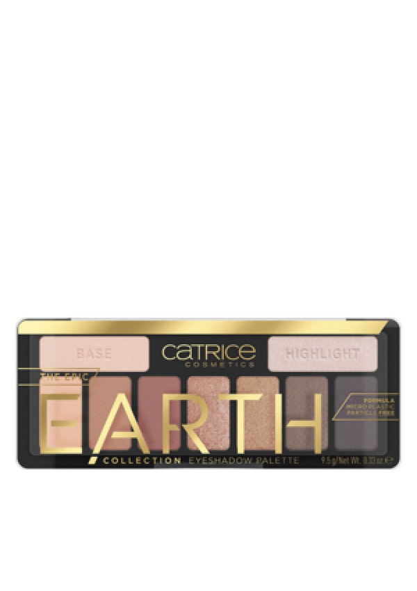 CATRICE Палетка теней The Epic Earth Collection Eyeshadow Palette