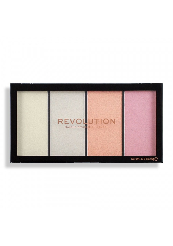 Revolution Makeup Палетка хайлайтеров Revolution Reloaded Lustre Lights Cool