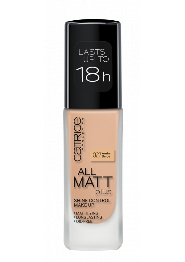 CATRICE Основа тональная All Matt Plus Shine Control Make Up