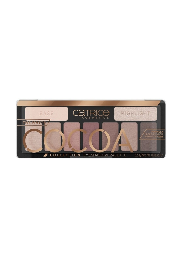 CATRICE Палетка теней The Matte Cocoa Collection Eyeshadow Palette